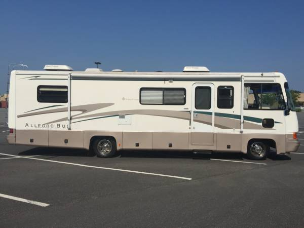 1997 Tiffin Allegro Bus 35 FT Motorhome For Sale in ...