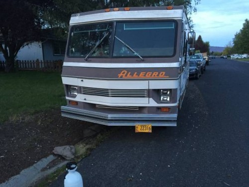1986 Tiffin Allegro 27 Ft Motorhome For Sale In Klamath