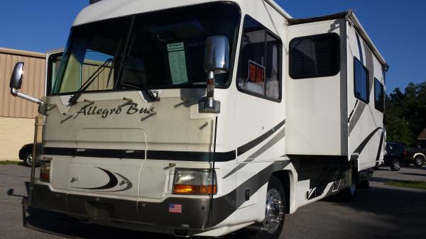 2001 tiffin allegro bus 35 ft motorhome for sale in st for St augustine craigslist